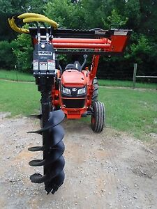 Kubota Tractor Attachment Danuser Ep 10 Hex Auger With 18 Bit Ship 199