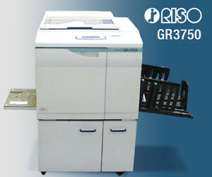 Risograph Riso Gr 3750 High Speed Duplicator