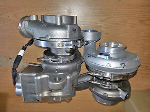 Mercedes Benz Borg Warner Mbe 900 Twin Turbo Charger New