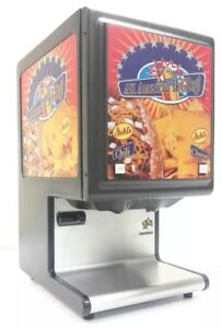 Star Hpde2 Double Hot Food Chili Nacho Cheese Push Button Stainless Dispenser