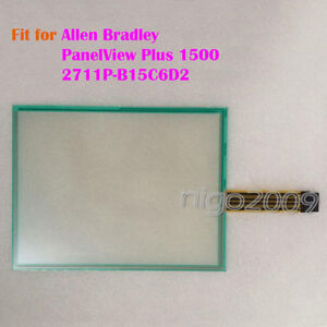 For Allen Bradley Panelview Plus 1500 2711p b15c6d2 Touch Screen Glass New