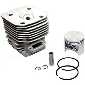 60mm Cylinder Piston Kit For Husqvarna Partner K1260 Concrete Cut Off Saw