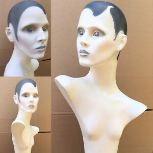 Hindsgaul Mannequin Denmark Mod Punk New wave Hand Painted Realistic Female 36