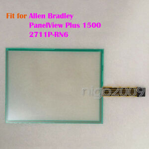 For Allen Bradley Panelview Plus 1500 2711p rn6 Touch Screen Glass New