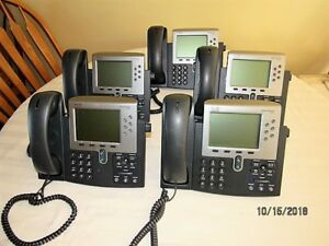 5 Very Nice Cisco Ip 7962g Business Telephones W stands