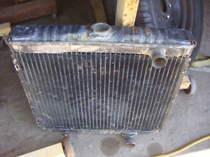 1968 1969 Ford Mustang Shelby Radiator Fastback Wmo 10 68 Coupe 289 302 351w