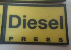 Gilbarco Veeder root Dispenser pts Push to start Diesel Decal Overlay Opw