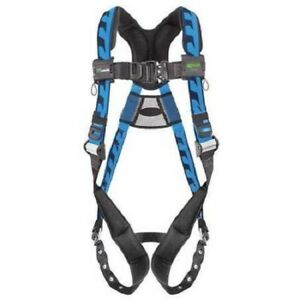 New Honeywell Miller Full Body Comfort Safety Harness 400 Lb Blue Aca tb ubl