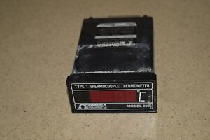 Omega Engineering Type T Thermocouple Thermometer Model 650