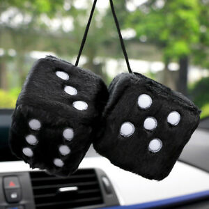 Car Pendant Hanging For Plush Dice Craps Pendant Auto Ornaments Home Decoration
