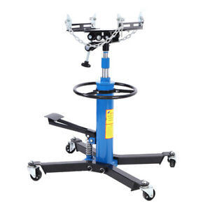 34 68 Hydraulic Transmission Jack Stand Gearbox Lifter Hoist 2stage 1100lb 0 5t
