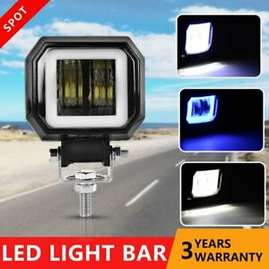 20w Spot Cree Led Round Work Light Lamp For Off Road Truck 4wd Atv Motocycle