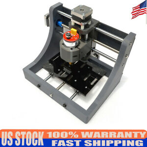 New Grbl Desktop Cnc Router Diy Engraving Machine Kit 3 Axis Cnc1610 er11