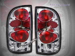 1995 2000 Toyota Tacoma Tail Lights 1996 1997 1998 1999
