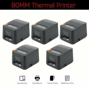 5 X 80mm 300mm sec Thermal Receipt Printer Auto Cut Pos 8250 For Ios Android Lk