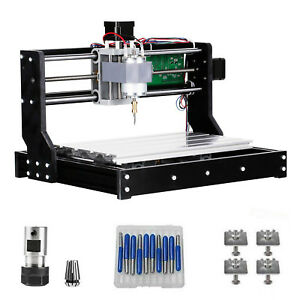 Cnc Router 3018 Pro Kit Grbl Control 3 Axis Acrylic Pcb Wood Carving Cnc Machine