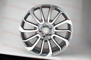 22 Gunmetal Land Rover Hse Rims Wheels Super Charge Lr2 Lr3 Lr4 Lr5 Stormer
