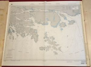 Nautical Chart Used In Sailing Expedition Around The Horn Cabo De Hornos Chile