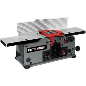 Porter cable Pc160jtr 2 blade 120v 6 Variable Speed Bench Jointer W warranty