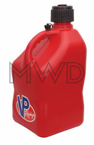 Vp Racing Red 5 Gallon Square Fuel Jug utility Water Container jerry Gas Can