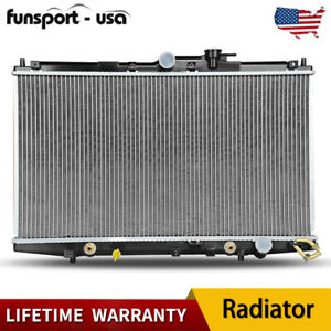 2148 Radiator For 1998 2002 Honda Accord Dx Ex L4 2 3l W Oil Cooler Lifetime Us