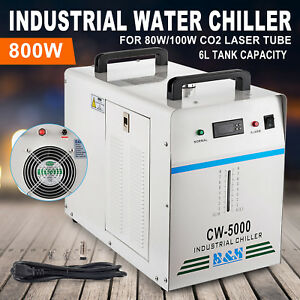 Cw 5000 110v Industrial Water Chiller For Cnc Laser Engraver Engraving Machine