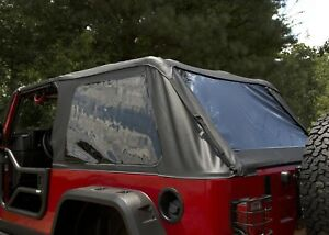 Montana Bowless Soft Top For Jeep Wrangler Unlimited Lj 2004 2006 Rugged Ridge