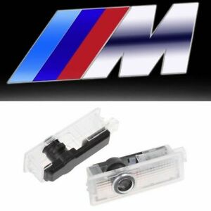 2 M Logo Led Door Courtesy Welcome Light Ghost Shadow Laser Projector For Bmw