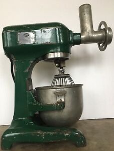 Hobart A120 Mixer 3 With Meat Grinder Multiple Accessories