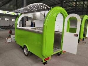 Brand New Wholesale Food Cart truck Trailer More Style Size Colors Available