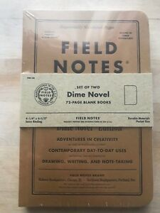 Field Notes Dime Novel Edition Limited Edition 27 500 Fall 2017