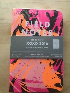Field Notes Xoxo 2016 Edition Ultra Limited Edition
