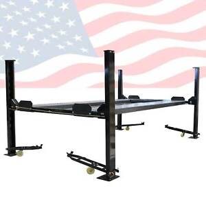Xk Pp 8s 8000 Lb 4 post Heavy Duty Portable Storage Car Lift Auto Hoist 110v