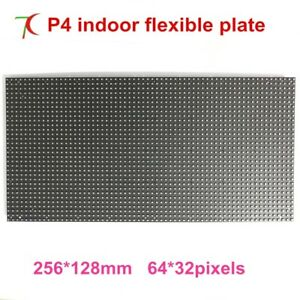 P4 Flexible Led Sheet With Flexible Interior Surface Led Screen Dot Matrix P4 Rg