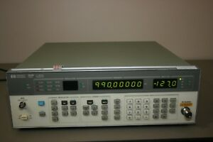 Agilent Hp 8656b Rf Generator 0 1 990mhz Opt 001 Warranty Recent Calibration