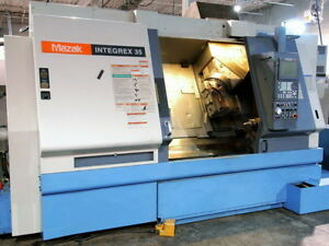 Mazak Integrex 35yr Cnc Lathe Turning Center With Live Tool And Y axis