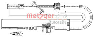 Metzger Clutch Cable For Fiat Multipla 99 10 46538236