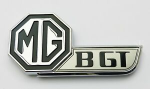 Mgbgt V8 Concours Oe Standard Tailgate Badge British Made Mg Hza5024