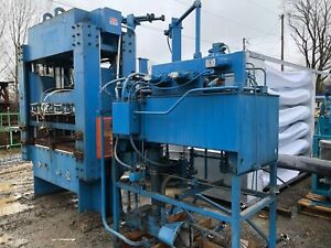 Used 150 Ton 4 post Hydraulic Press And Power Unit