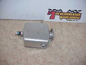 Oval Craft Aluminum Coolant Expansion Overflow Reservoir Tank With Stant Cap F24