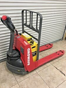 Raymond 4500lb Lift Capacity Electric Pallet Jack W Built in 115v Charger