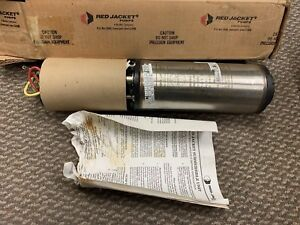 Red Jacket Submersible Well Pump Motor 50n1 1 2 Hp 208 230 V 60 Hz 1 Ph New