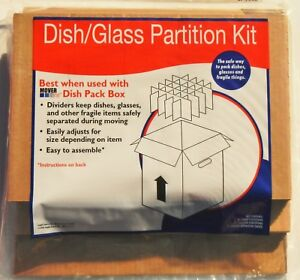 Mover One Sp 7020 Cardboard Dish glass Partition Kit Qty 2
