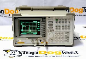 Hp Agilent Keysight 8594e Rf Spectrum Analyzer 9khz 2 9ghz