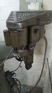 Bridgeport Model E Shaping Head Attachment Single Phase Original Paint Works