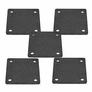 5 X 5 Heavy Duty Welding Base Plate With Holes 5 Pieces