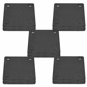 5 X 5 Heavy Duty Welding Base Plate With Holes 10 Pieces