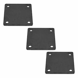 6 X 6 Heavy Duty Welding Base Plate With Holes 3 Pieces