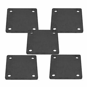 6 X 6 Heavy Duty Welding Base Plate With Holes 5 Pieces