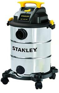 Stainless Steel Wet dry Vacuum Cleaner New Shop Vac Garage Industrial 8 Gallon